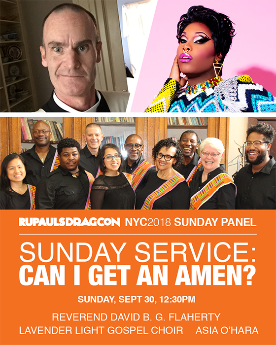 Ru Paul's Drag Con NYC 2018 Sunday Panel
